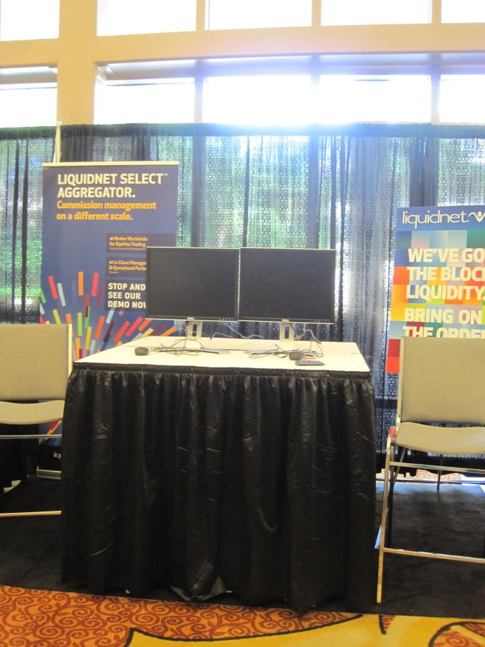 CRD Booth Setup