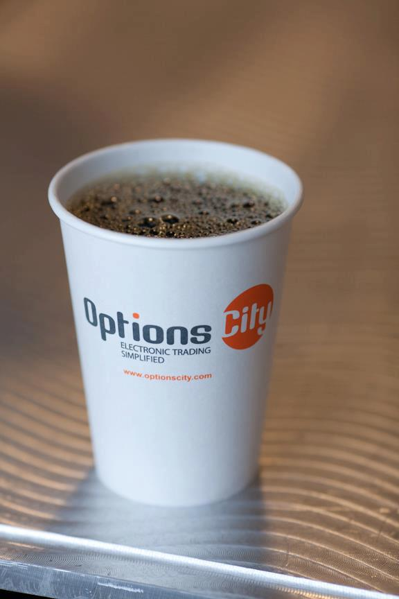 Options City Coffee Cup