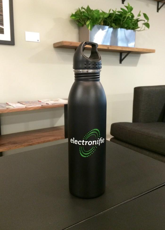 electronofie water bottle